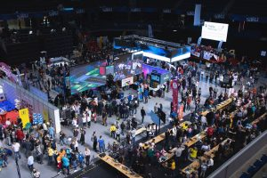 Novatex at Robotex (International Robotics Competition)